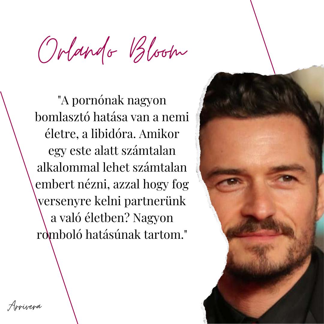 Celebek a pornó ellen – Orlando Bloom